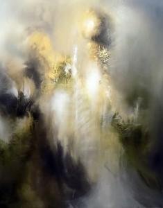"""""""Trinity"""" 150 x 120 cm Oil on canvas"""